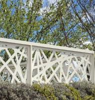 Steel design guardrail